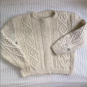 Vintage wool fisherman's sweater